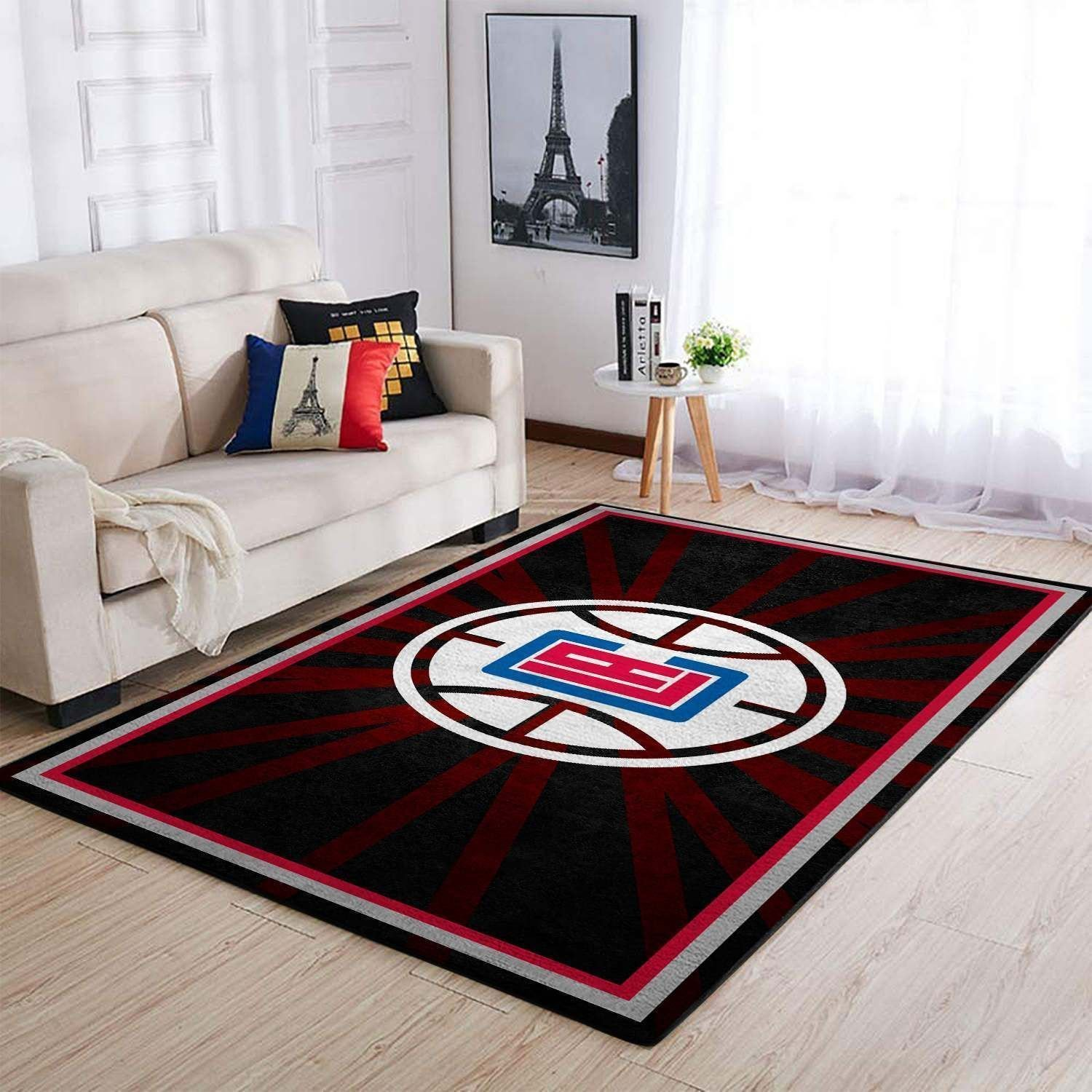 Amazon Los Angeles Clippers Living Room Area No3578 Rug