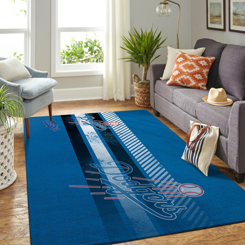 Amazon Los Angeles Dodgers Living Room Area No3582 Rug