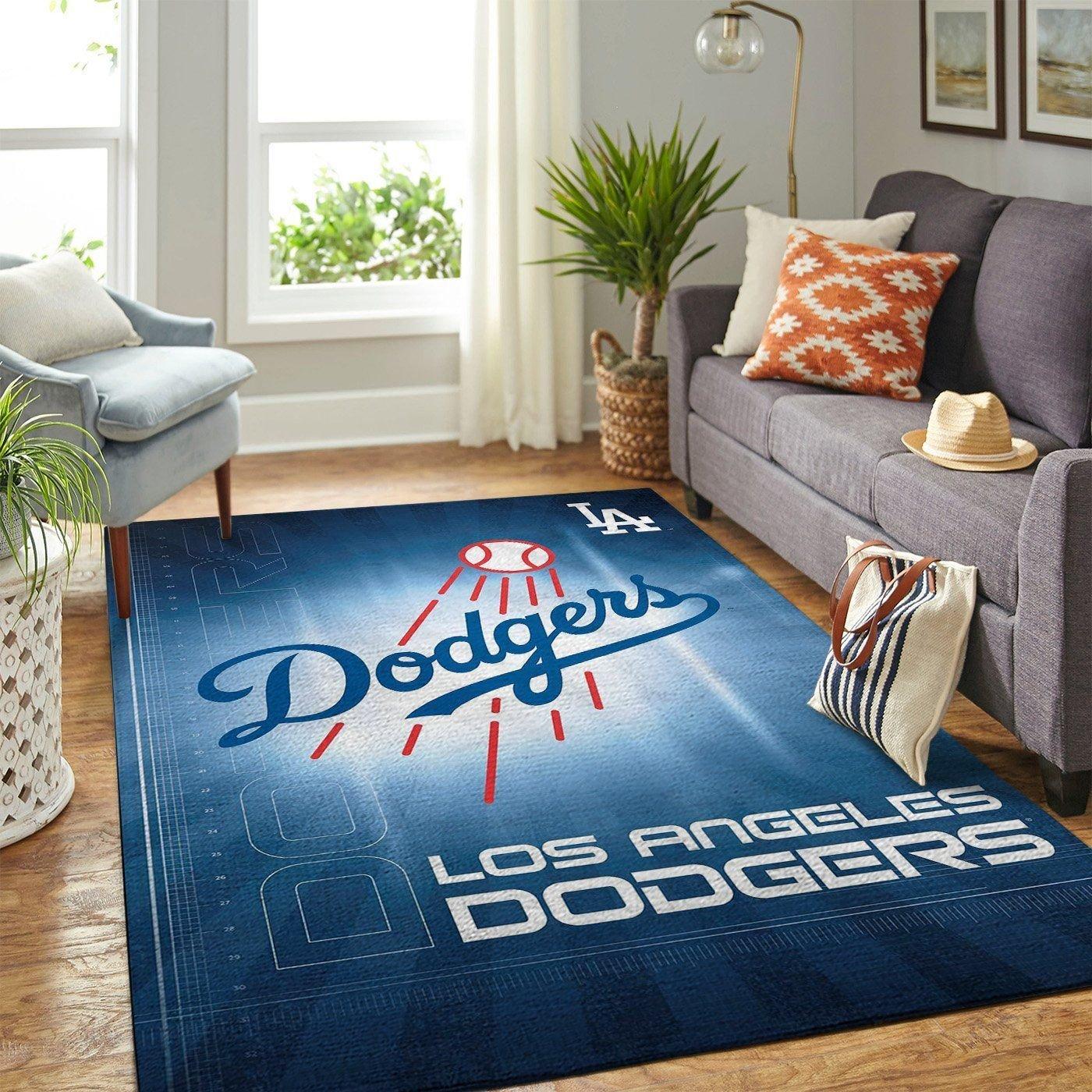 Amazon Los Angeles Dodgers Living Room Area No3584 Rug