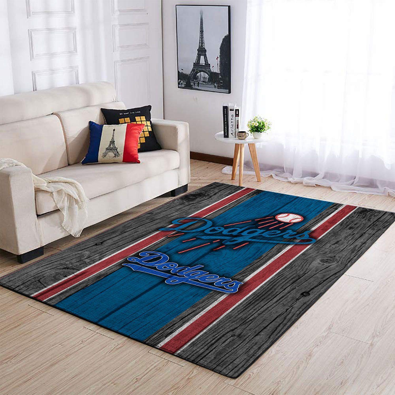 Amazon Los Angeles Dodgers Living Room Area No3585 Rug
