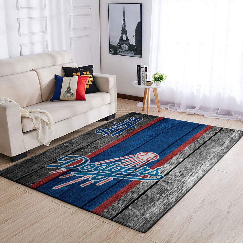 Amazon Los Angeles Dodgers Living Room Area No3586 Rug