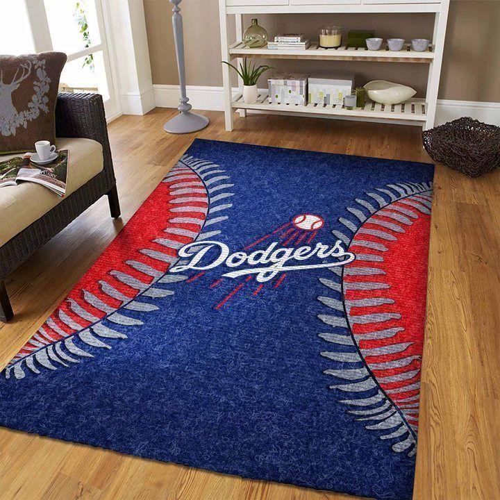 Amazon Los Angeles Dodgers Living Room Area No3600 Rug