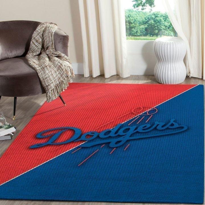 Amazon Los Angeles Dodgers Living Room Area No3603 Rug