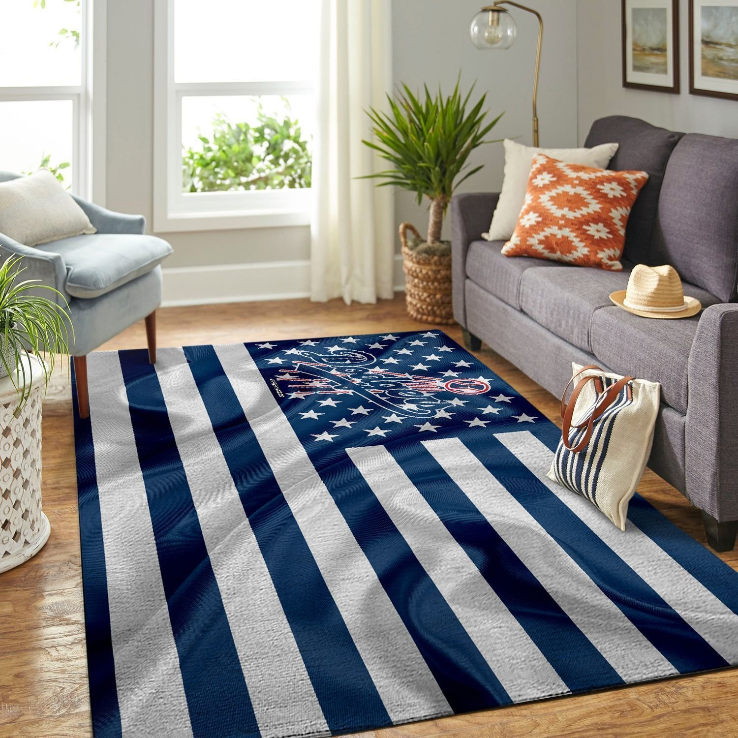 Amazon Los Angeles Dodgers Living Room Area No3606 Rug