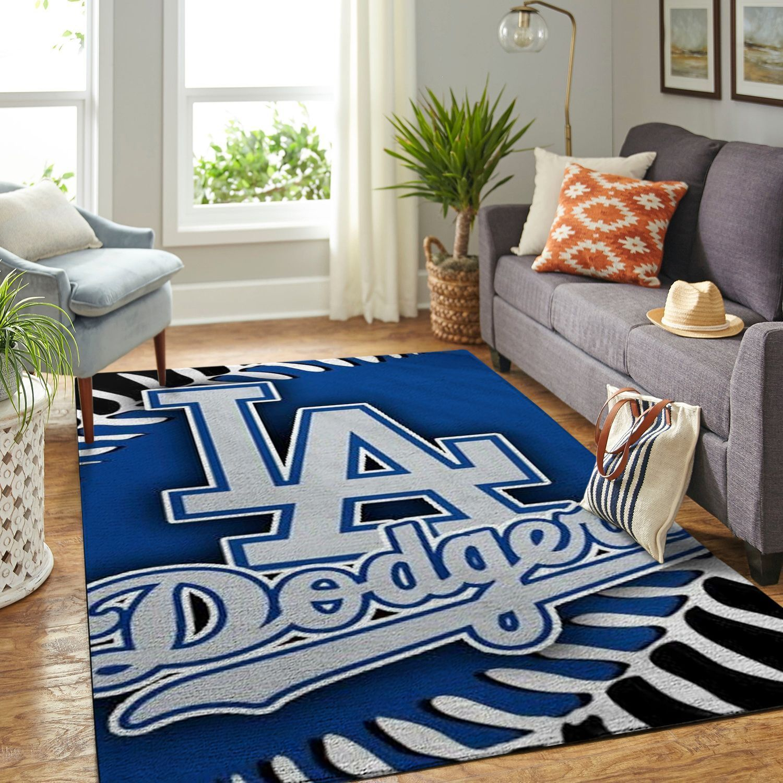 Amazon Los Angeles Dodgers Living Room Area No3608 Rug