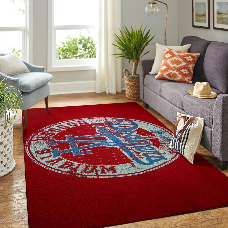Amazon Los Angeles Dodgers Living Room Area No3609 Rug