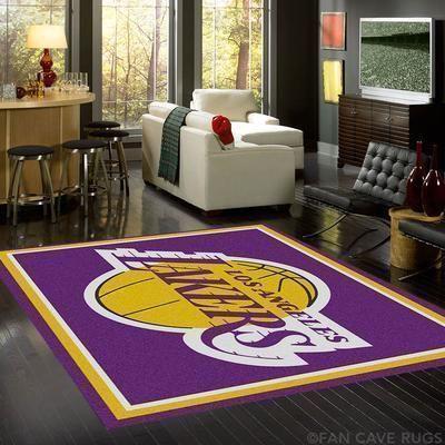 Amazon Los Angeles Lakers Living Room Area No3641 Rug