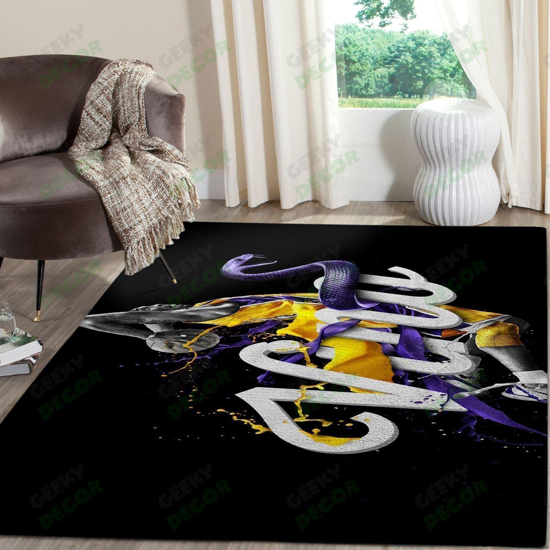 Amazon Los Angeles Lakers Living Room Area No3651 Rug