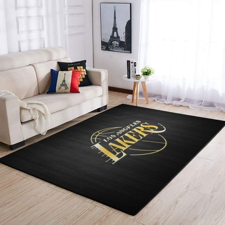Amazon Los Angeles Lakers Living Room Area No3652 Rug