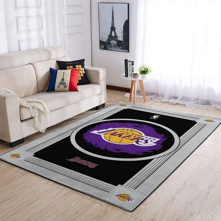 Amazon Los Angeles Lakers Living Room Area No3653 Rug