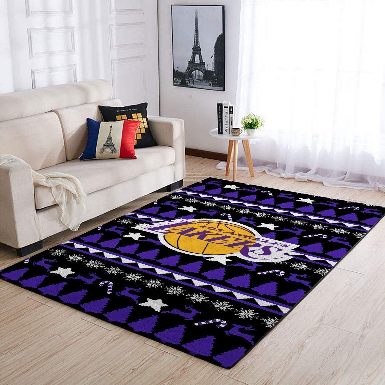 Amazon Los Angeles Lakers Living Room Area No3659 Rug