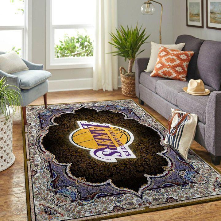 Amazon Los Angeles Lakers Living Room Area No3663 Rug