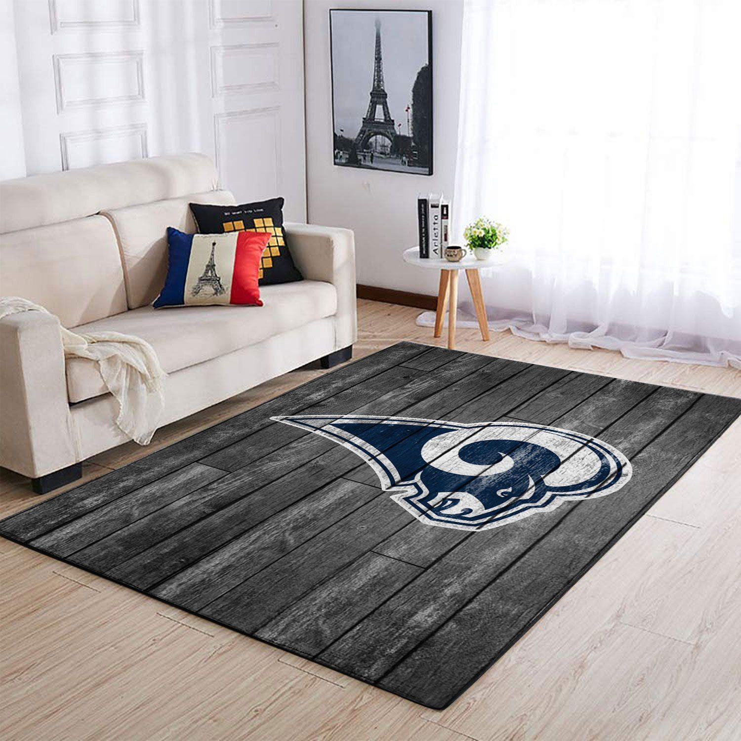 Amazon Los Angeles Rams Living Room Area No3668 Rug
