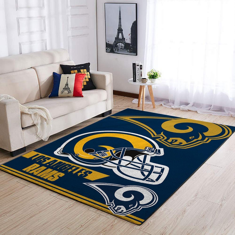 Amazon Los Angeles Rams Living Room Area No3669 Rug