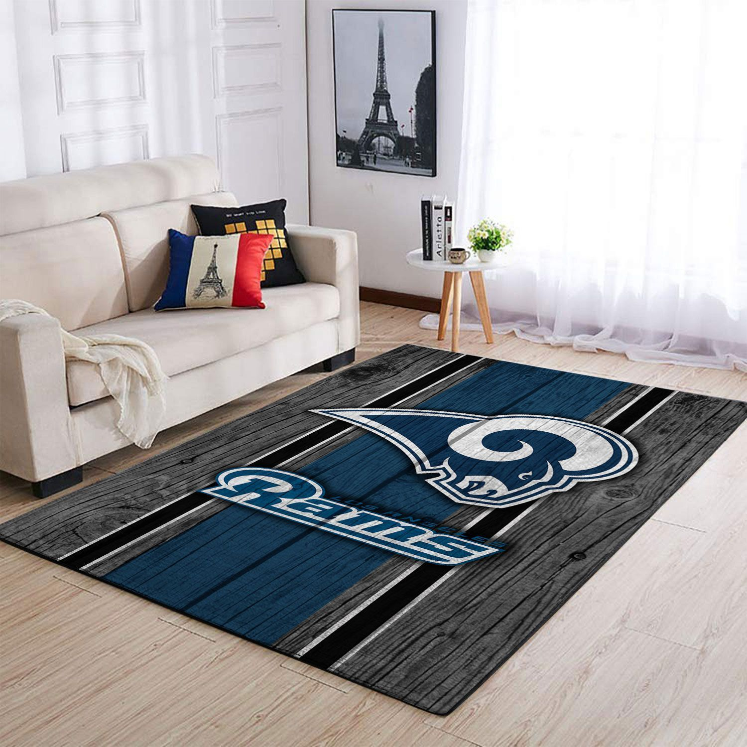Amazon Los Angeles Rams Living Room Area No3678 Rug