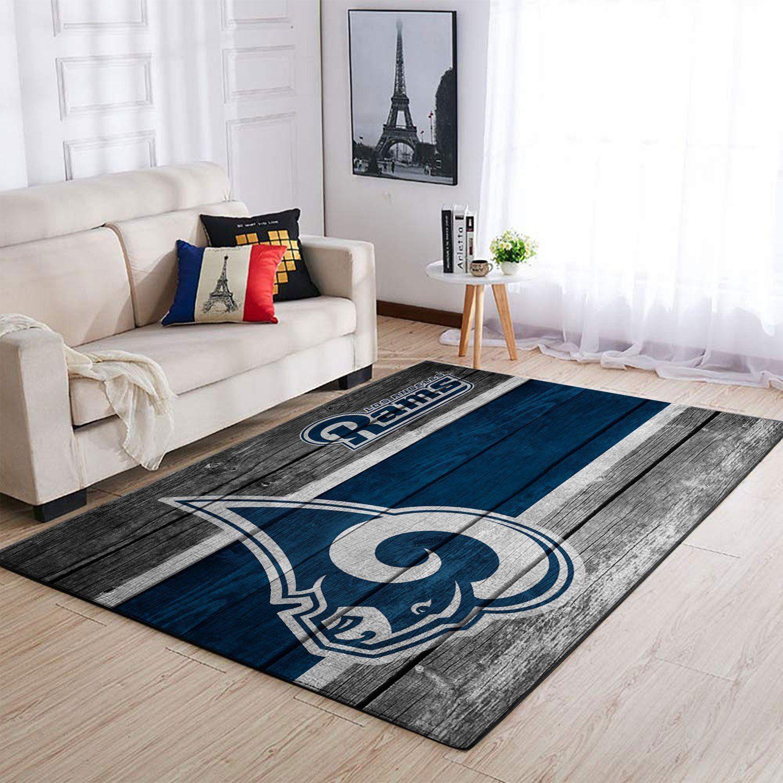 Amazon Los Angeles Rams Living Room Area No3679 Rug