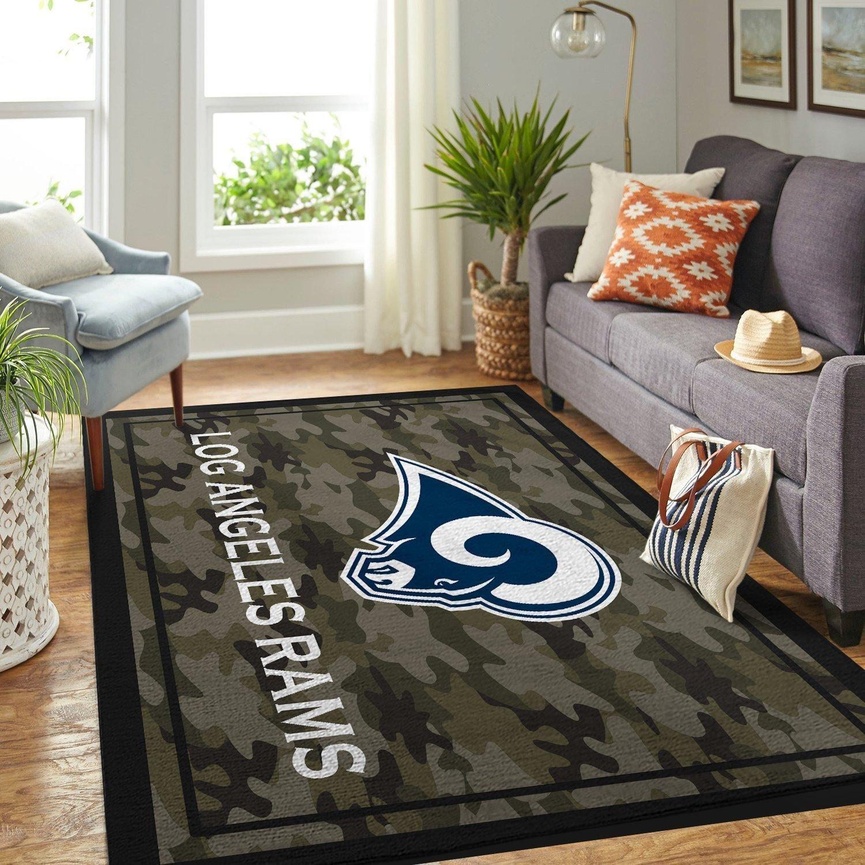 Amazon Los Angeles Rams Living Room Area No3687 Rug