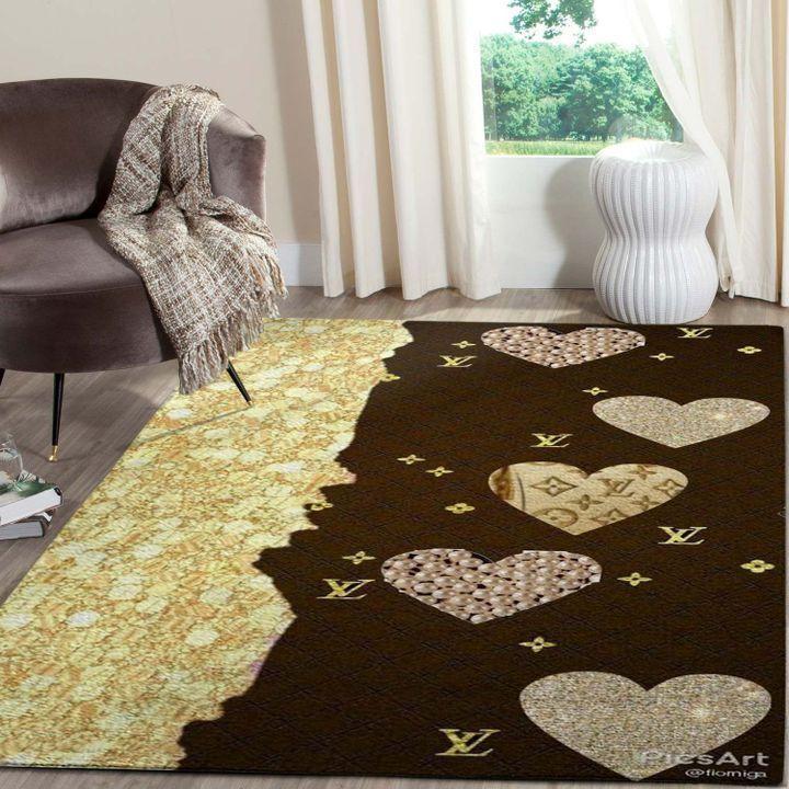 Amazon Louis Vuitton Living Room Area No1863 Rug