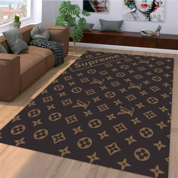 Amazon Louis Vuitton Living Room Area No1867 Rug