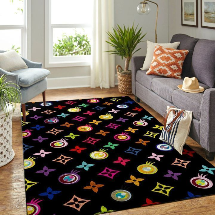 Amazon Louis Vuitton Living Room Area No1870 Rug