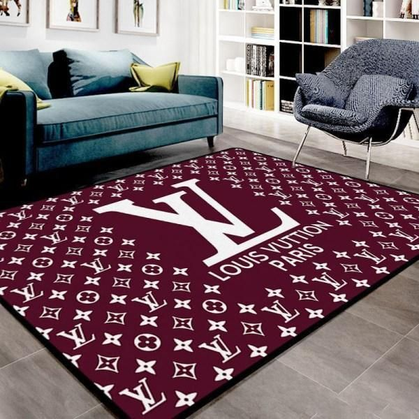 Amazon Louis Vuitton Living Room Area No1871 Rug