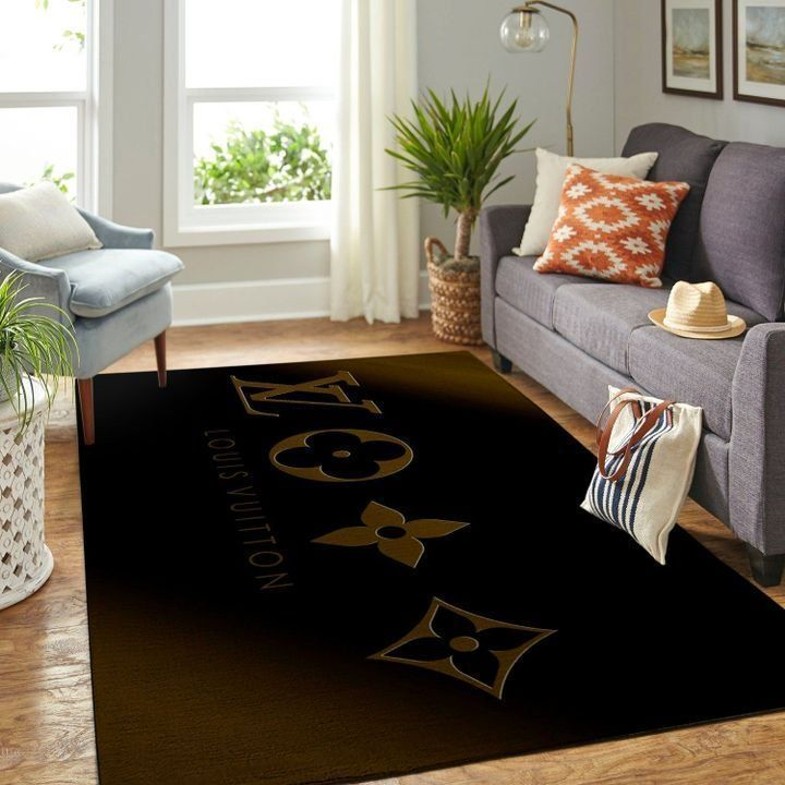 Amazon Louis Vuitton Living Room Area No1875 Rug