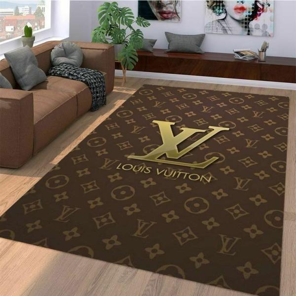 Amazon Louis Vuitton Living Room Area No1876 Rug