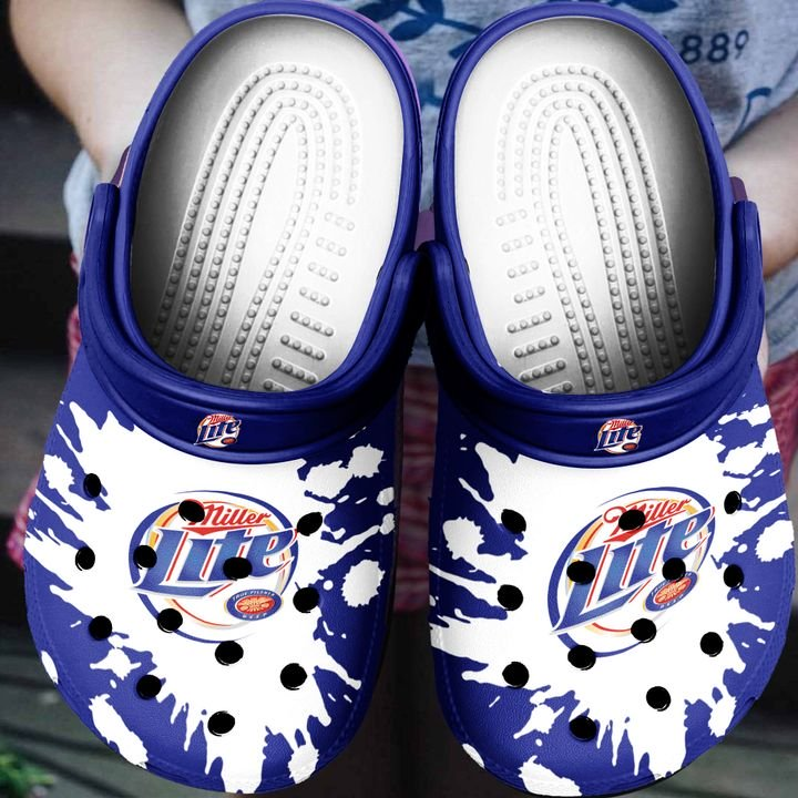 Amazon Miller Lite Beer Crocs Clog Shoes