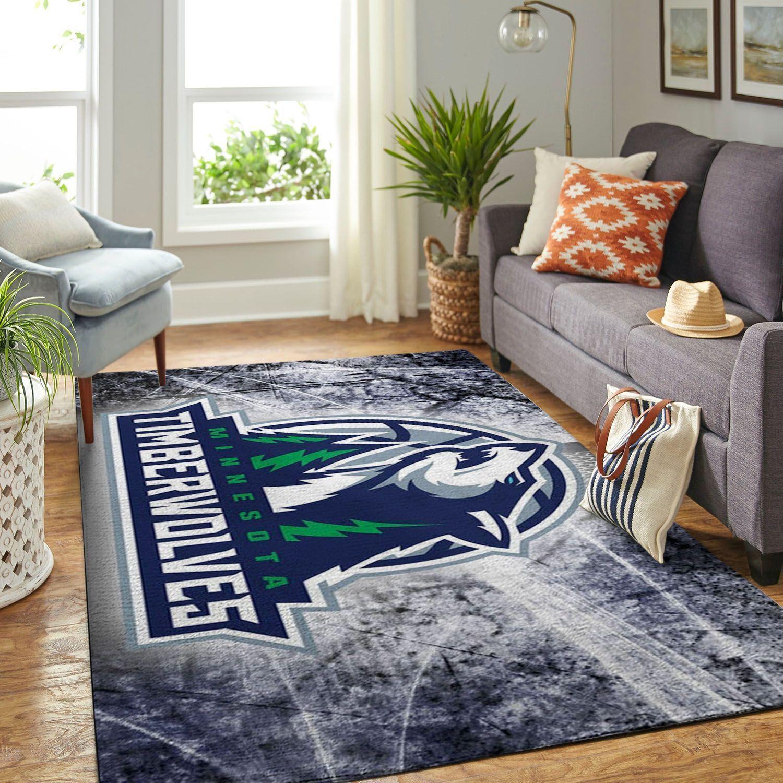 Amazon Minnesota Timberwolves Living Room Area No3916 Rug