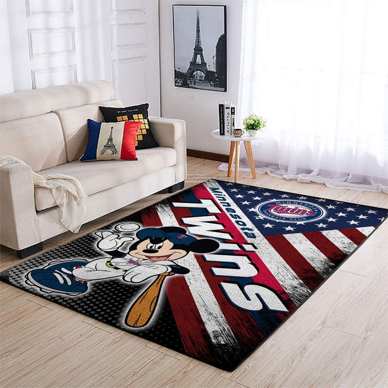 Amazon Minnesota Twins Living Room Area No3923 Rug