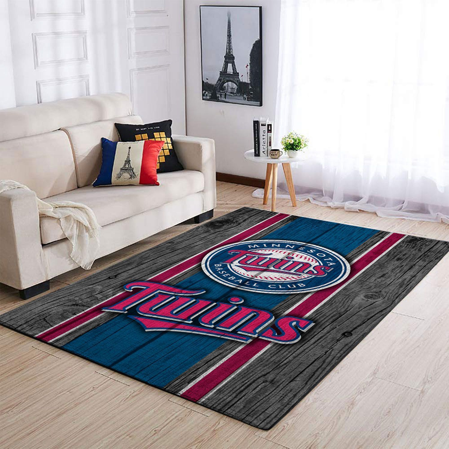 Amazon Minnesota Twins Living Room Area No3926 Rug