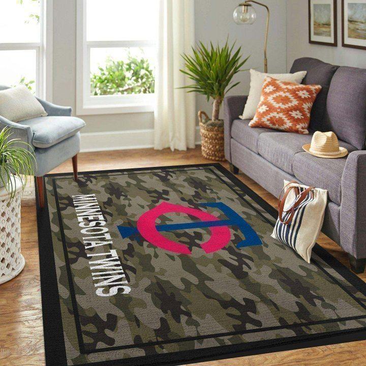 Amazon Minnesota Twins Living Room Area No3928 Rug