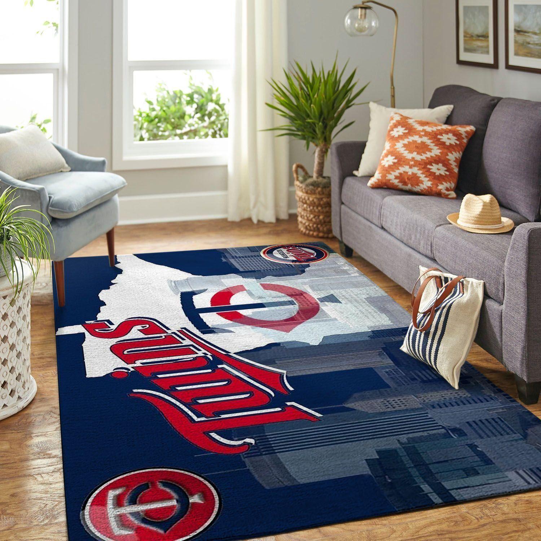 Amazon Minnesota Twins Living Room Area No3930 Rug