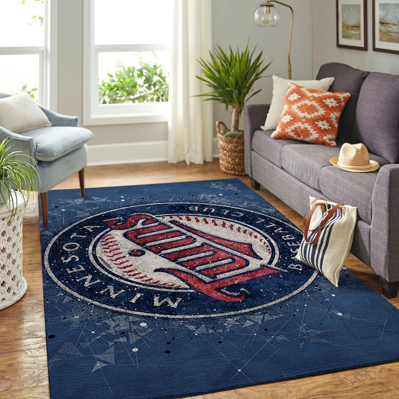 Amazon Minnesota Twins Living Room Area No3934 Rug