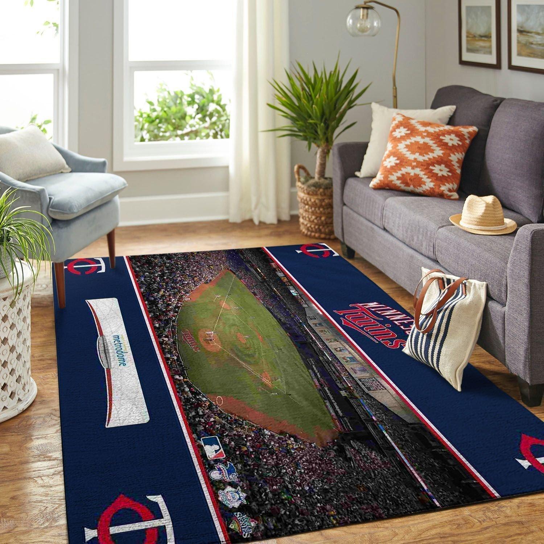 Amazon Minnesota Twins Living Room Area No3937 Rug