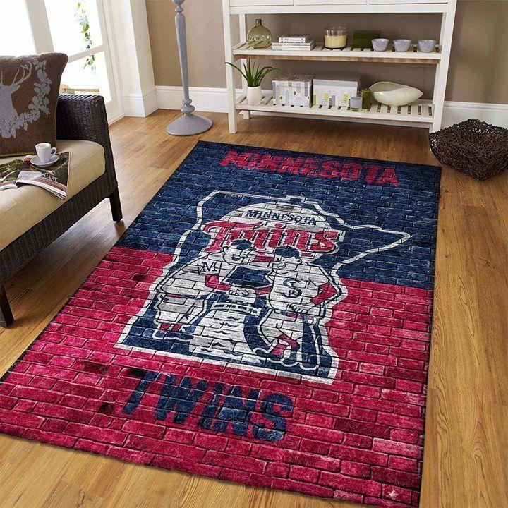 Amazon Minnesota Twins Living Room Area No3939 Rug