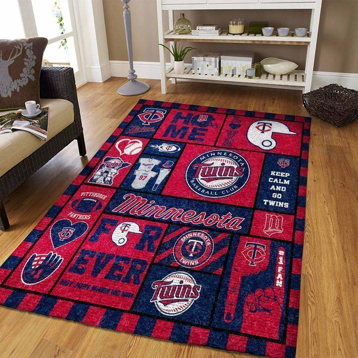 Amazon Minnesota Twins Living Room Area No3940 Rug