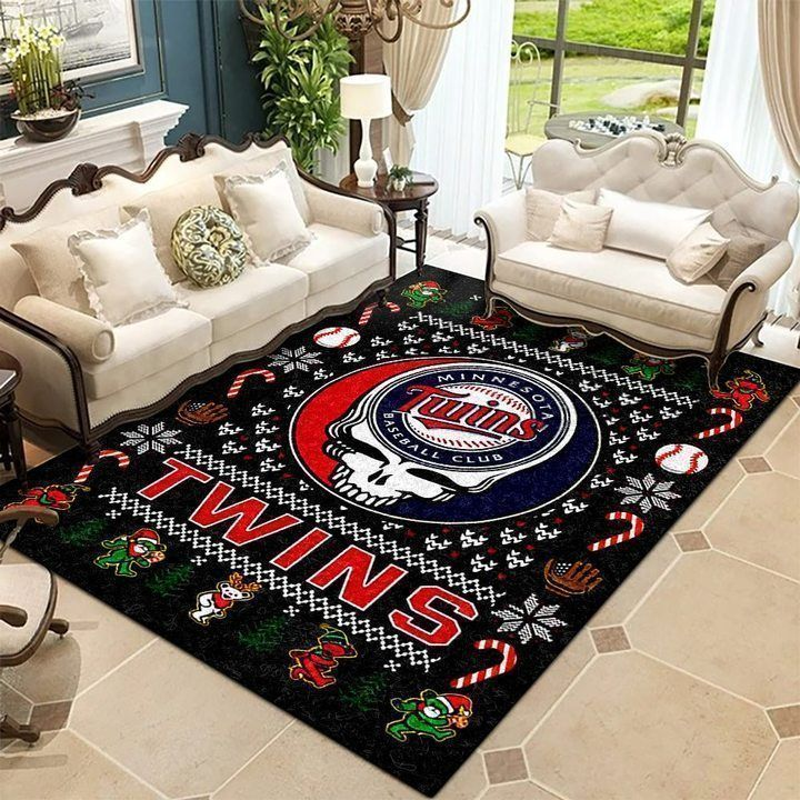 Amazon Minnesota Twins Living Room Area No3941 Rug
