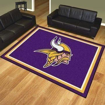 Amazon Minnesota Vikings Living Room Area No3970 Rug