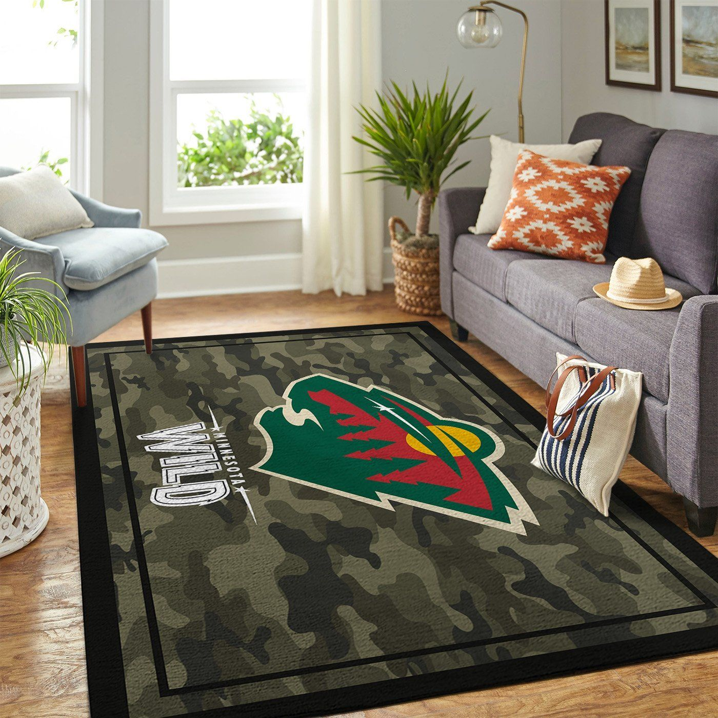 Amazon Minnesota Wild Living Room Area No3985 Rug