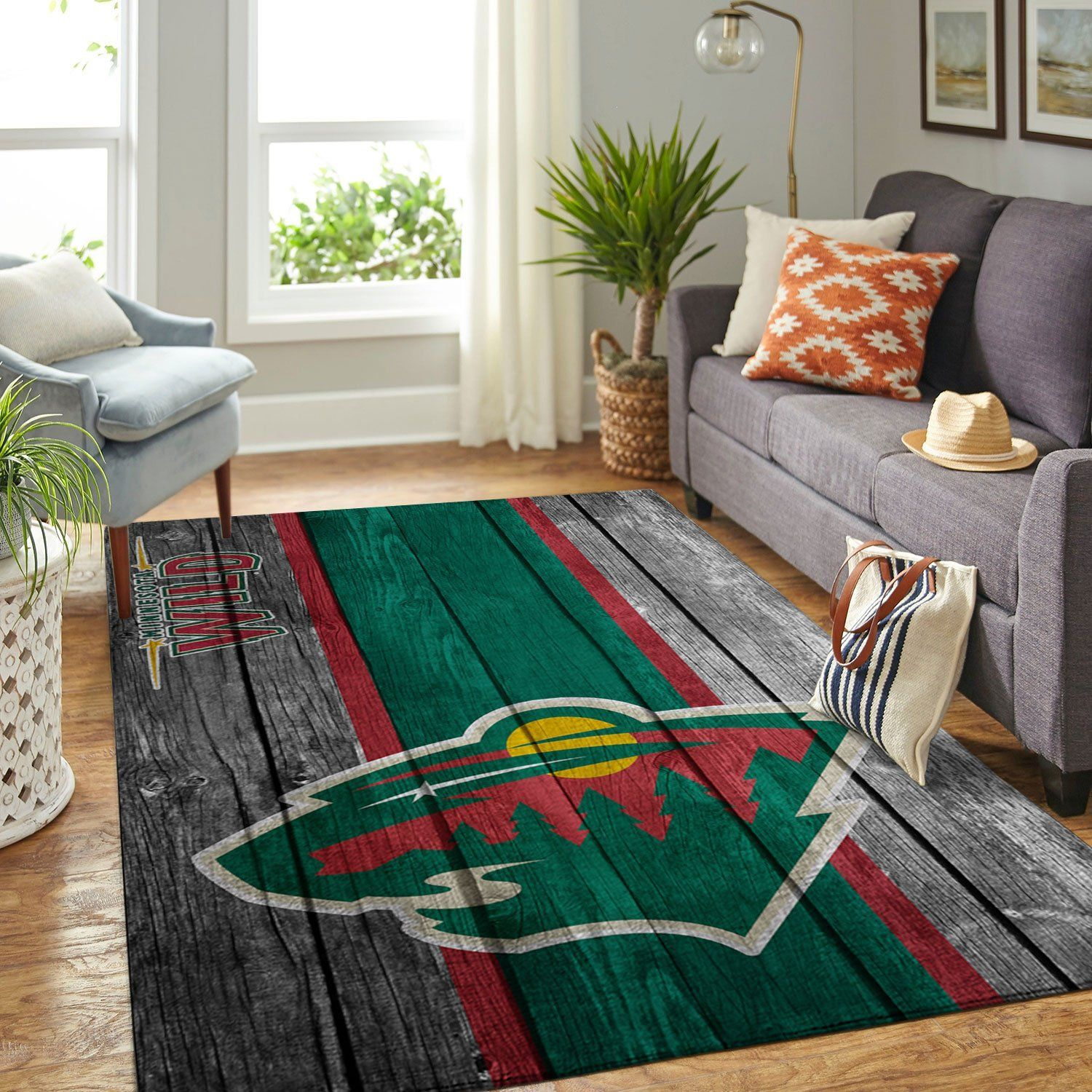 Amazon Minnesota Wild Living Room Area No3991 Rug