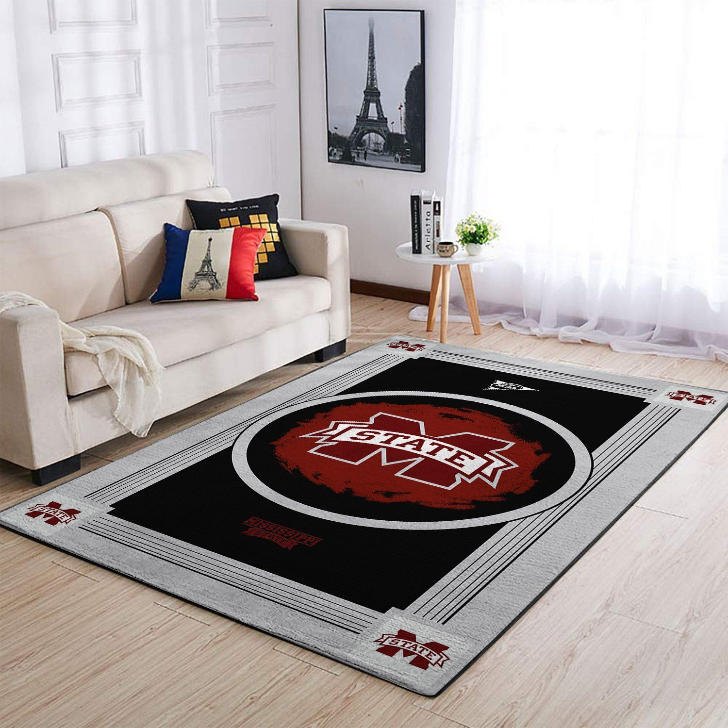 Amazon Mississippi State Bulldogs Living Room Area No3992 Rug
