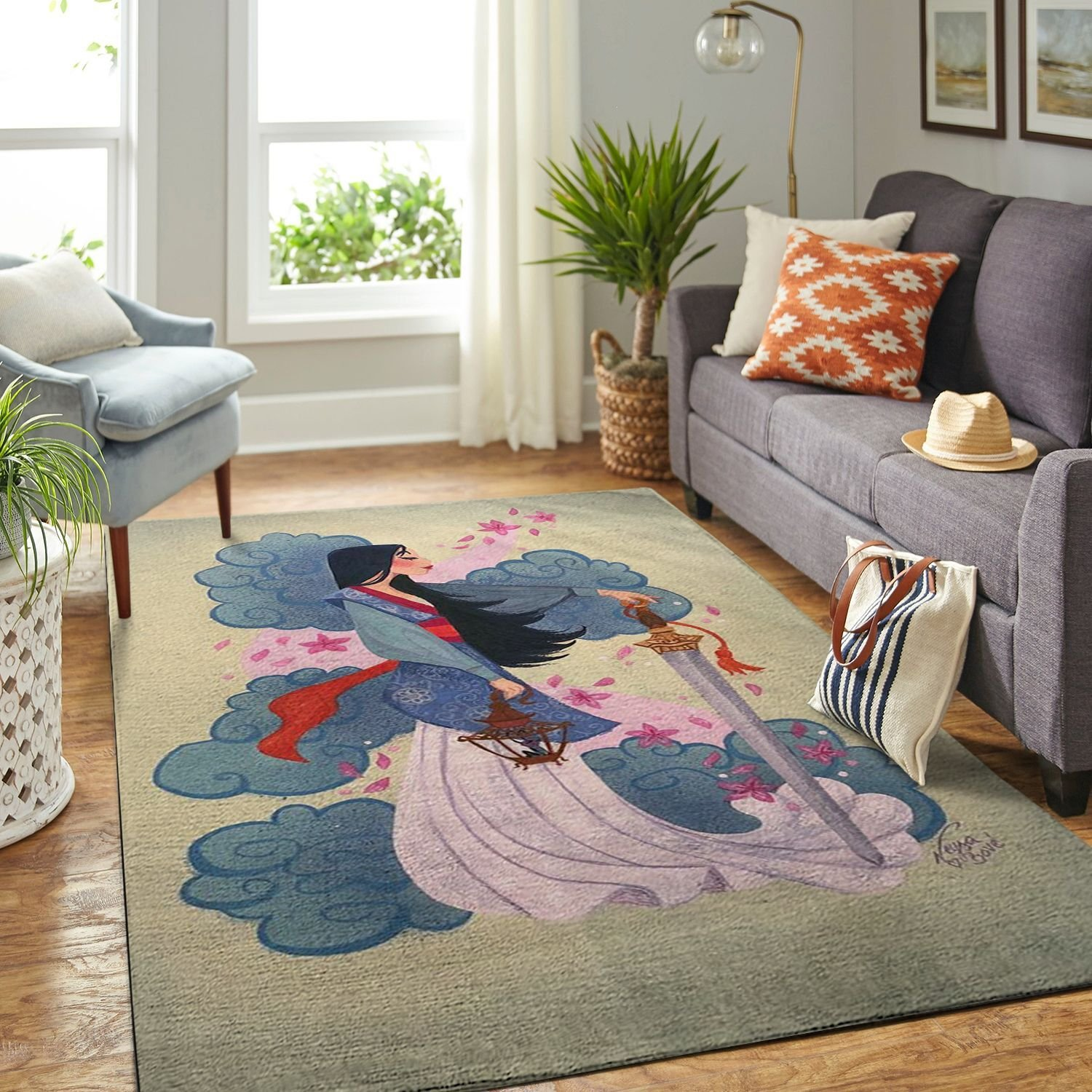 Amazon Moana Living Room Area No6333 Rug