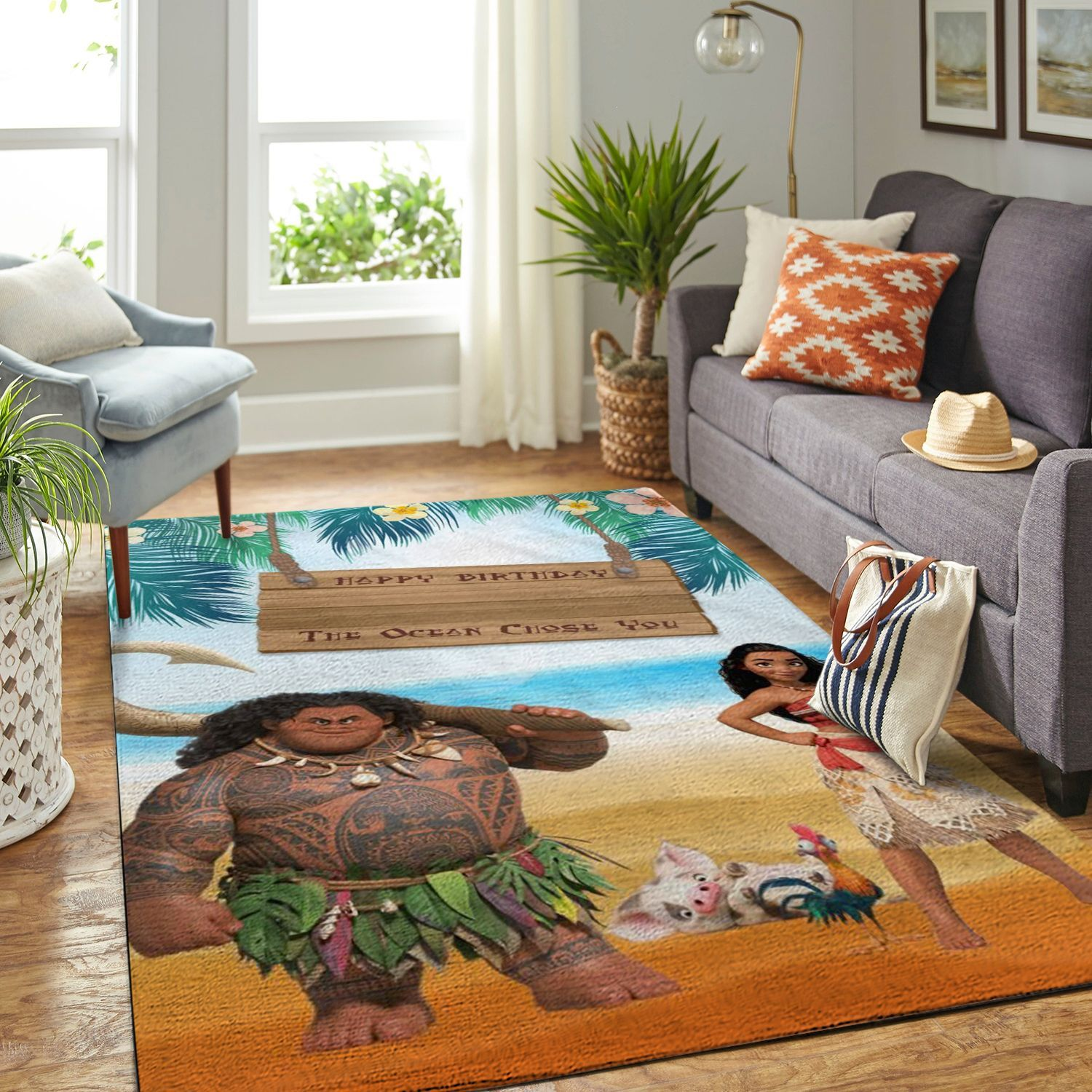 Amazon Moana Living Room Area No6339 Rug