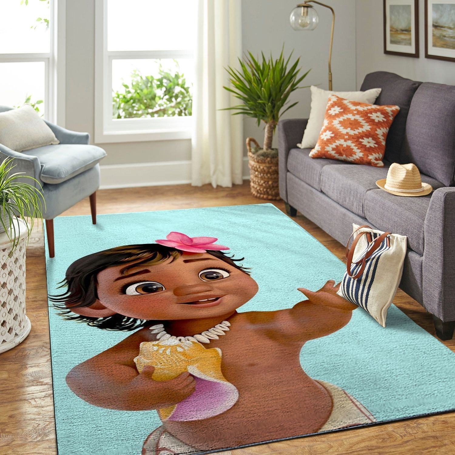 Amazon Moana Living Room Area No6344 Rug