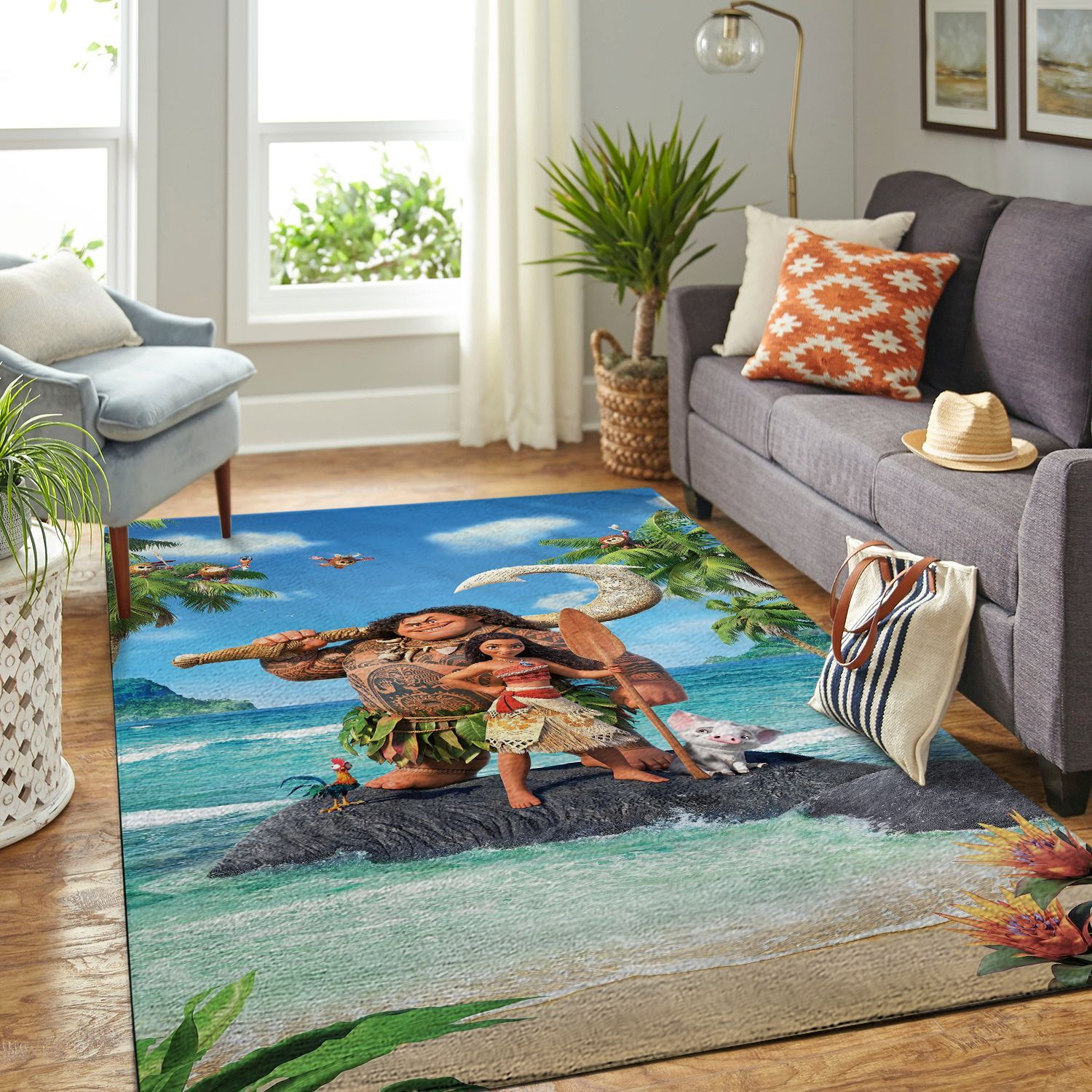 Amazon Moana Living Room Area No6508 Rug
