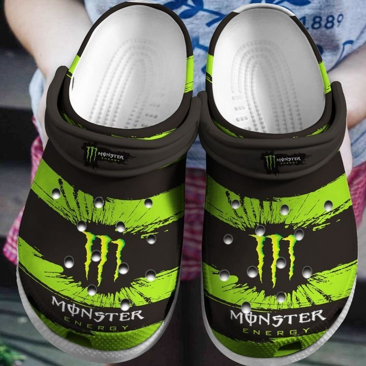 Amazon Monster Energy Drink Crocs Clog Shoes