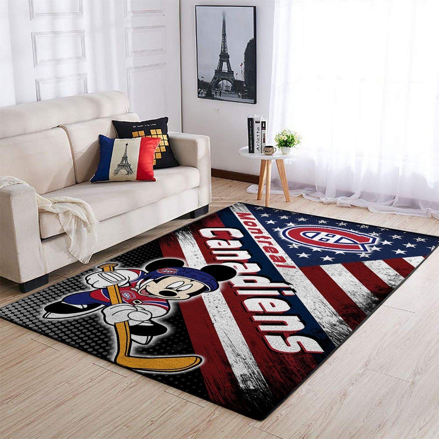 Amazon Montr?al Canadiens Living Room Area No3997 Rug