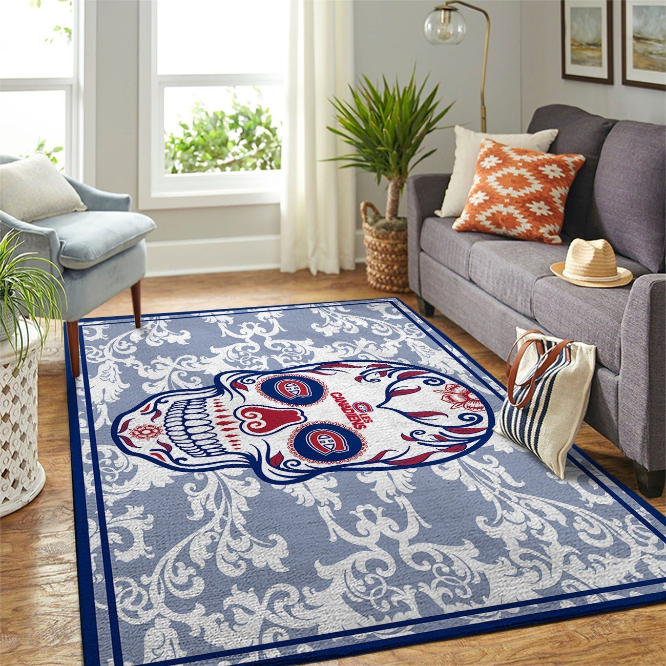 Amazon Montr?al Canadiens Living Room Area No3999 Rug