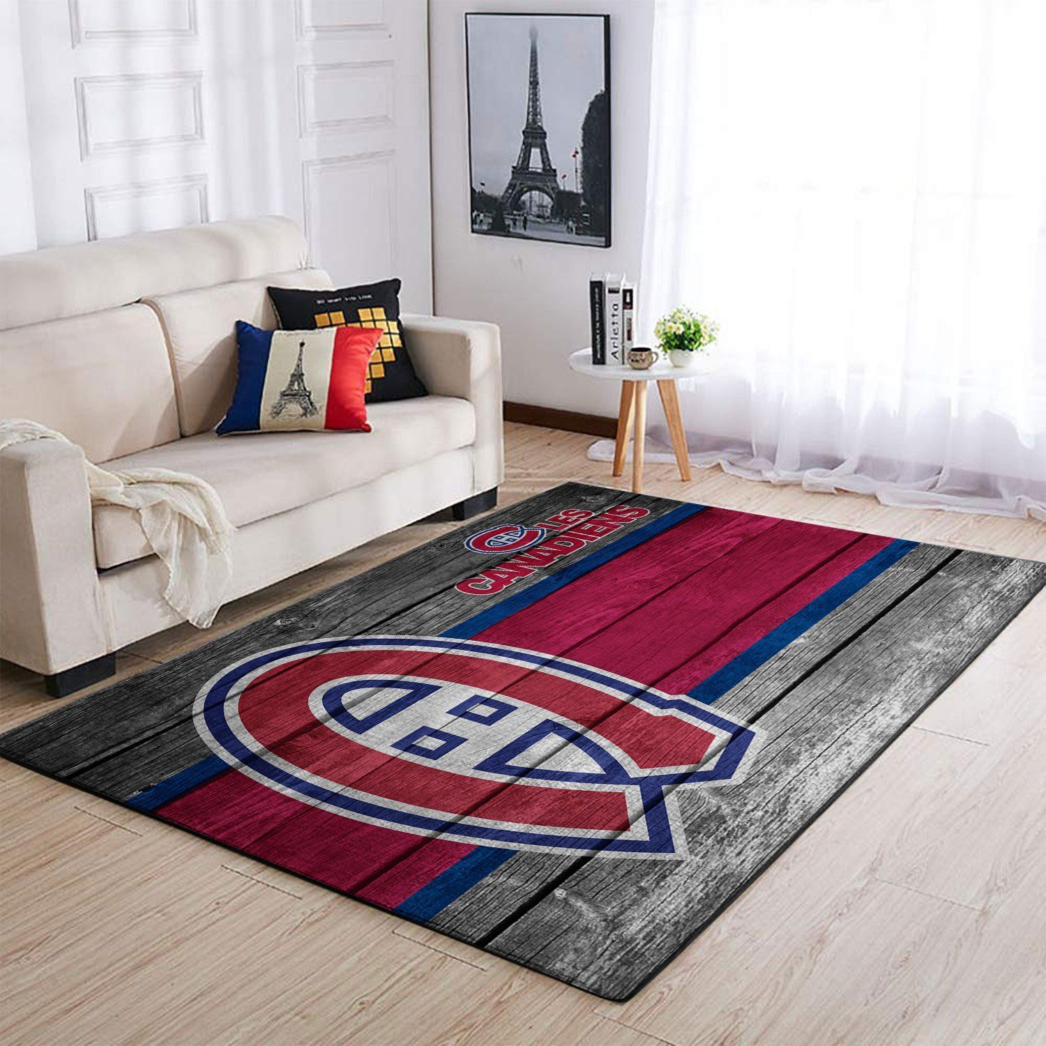 Amazon Montr?al Canadiens Living Room Area No4001 Rug